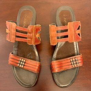 Naot Heeled Sandals